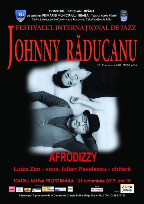 """AFRODIZZY la Festivalul Internațional de Jazz """"Johnny Răducanu"""""""