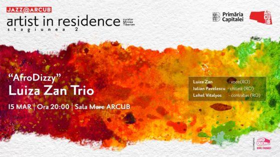 Luiza Zan Trio Artist in Residence