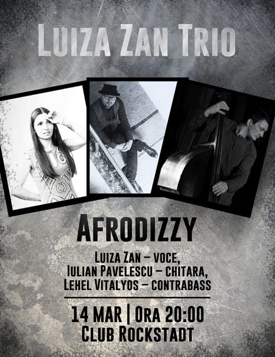 Luiza Zan Trio - AfroDizzy
